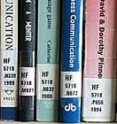 library books with call nos on spine